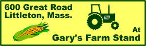 at Gary's Farm Stand